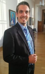 Maximilian von Rossek im Ahnengang des Bayerischen Landtags
